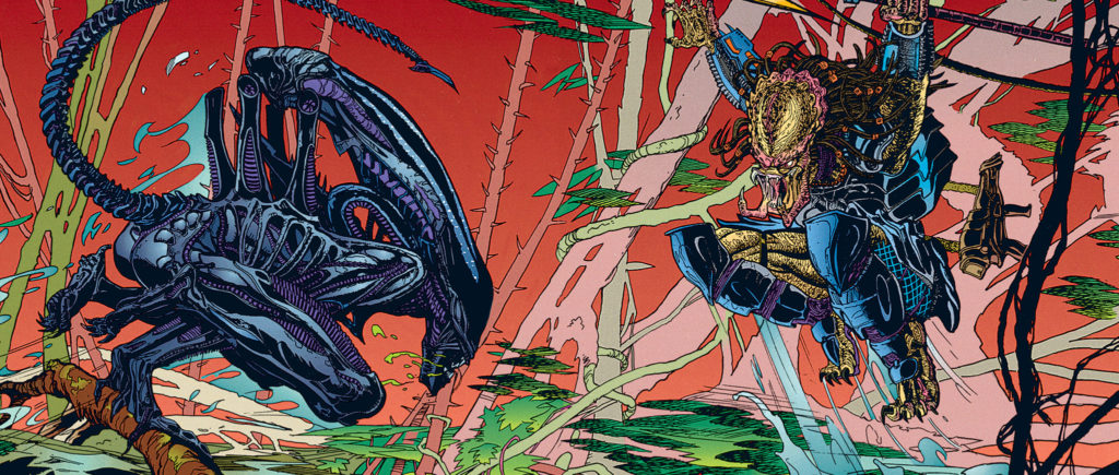 Aliens vs Predator Comic Books