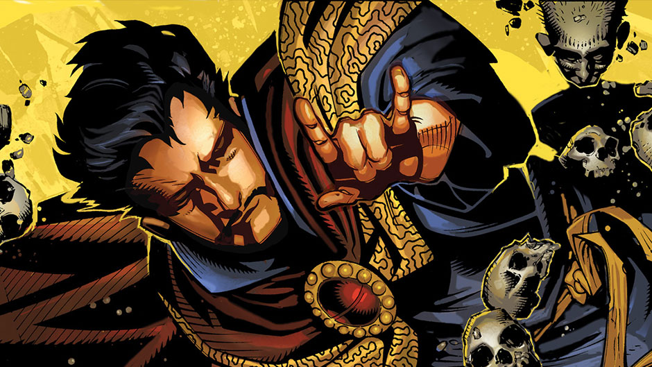 Doctor Strange comics from Jason Aaron and Chris Bachalo