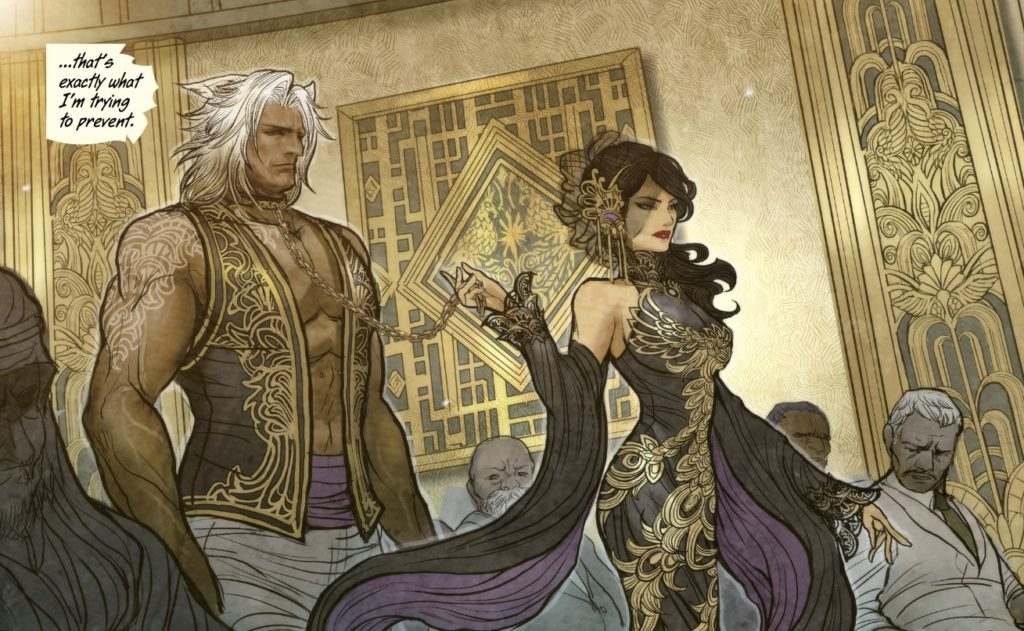Monstress Comic Book by Marjorie Liu