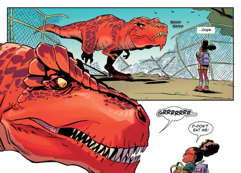 Moon Girl and Devil Dinosaur Marvel Comics