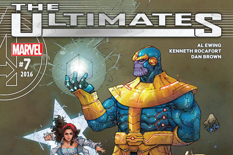 Marvel's 2016 Ultimates is my favorite Marvel Comic of 2016