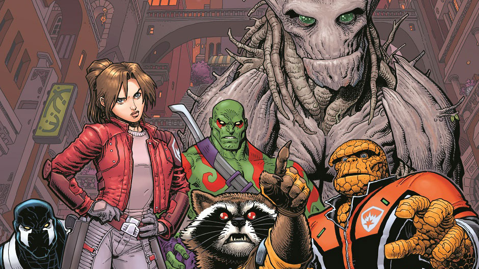 All new Guaridans of the Galaxy by Bendis