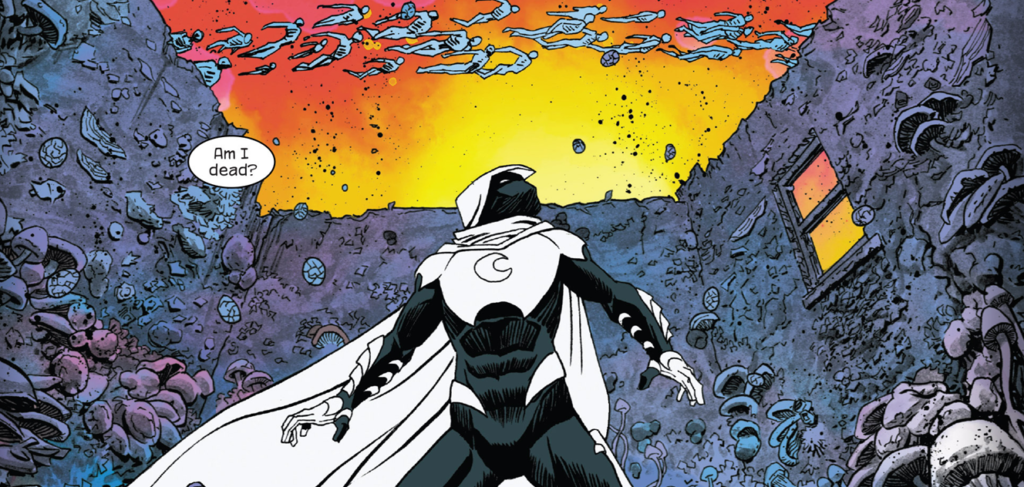 Moon Knight by Warren Ellis and Declan Shalvey