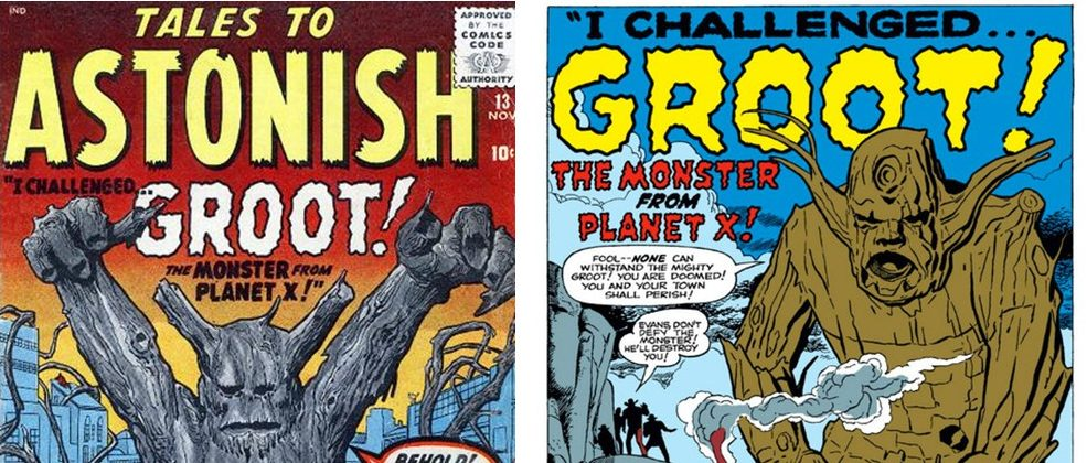 Groots first comic book appearance