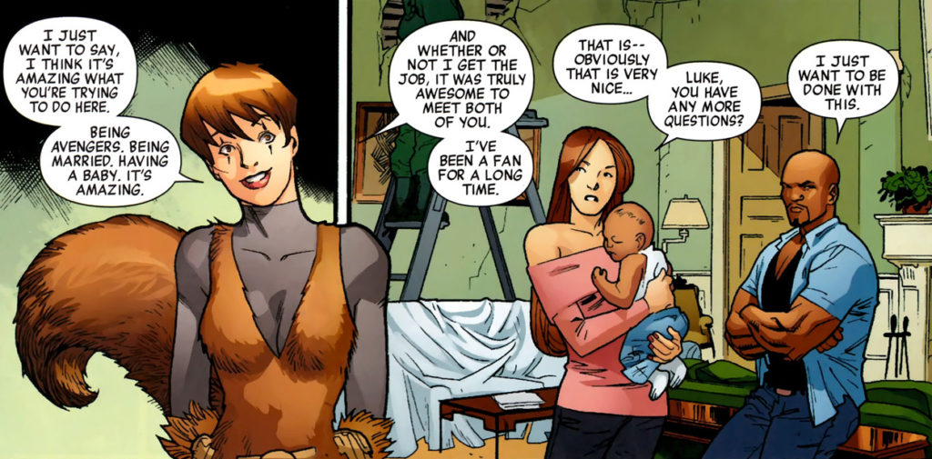 Squirrel Girl the New Avengers nanny