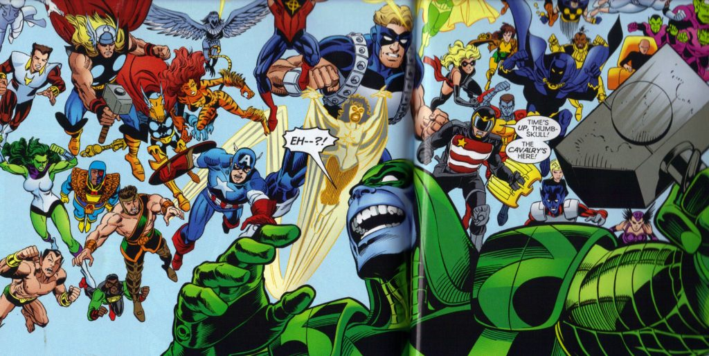 Maximum Security Marvel Crossover Event