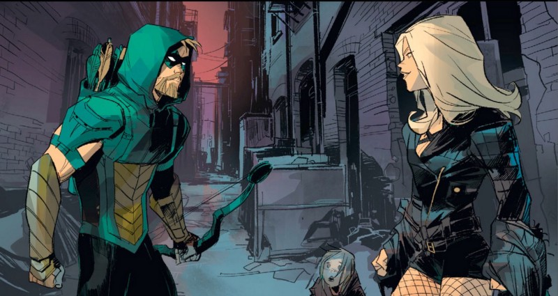 Green Arrow and Black Canary reunite in DC Rebirth