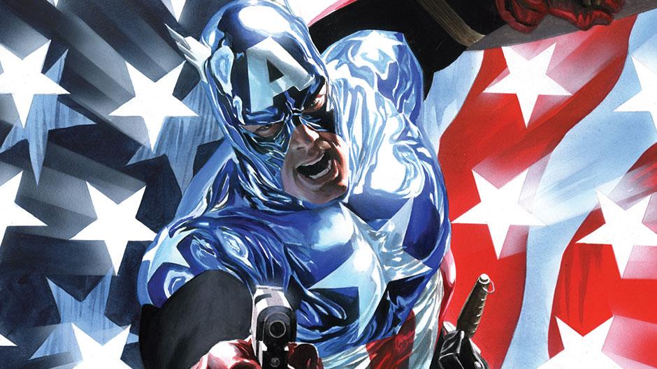 Bucky Barnes as Captain America