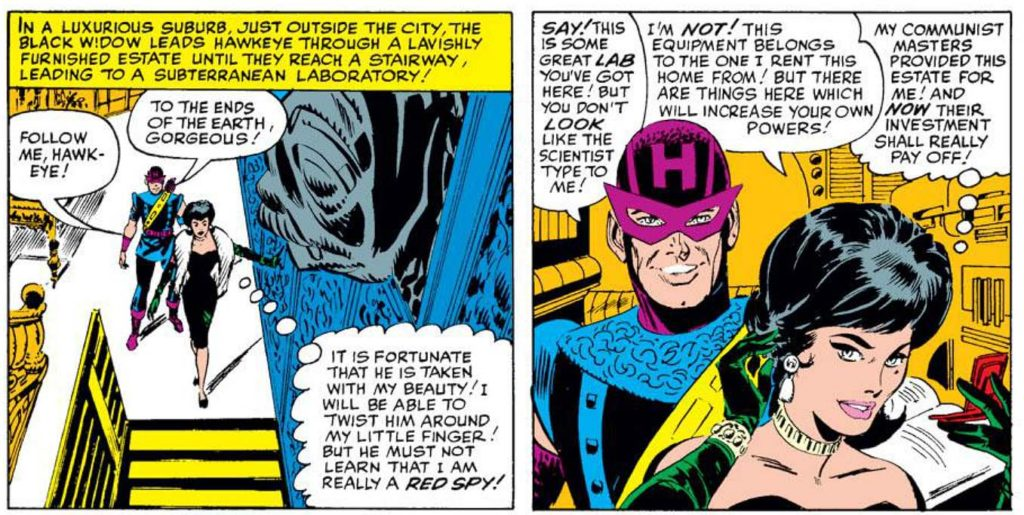 Image result for hawkeye first appearance