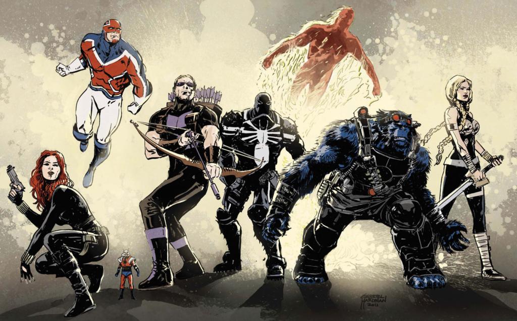 Secret Avengers by Remender