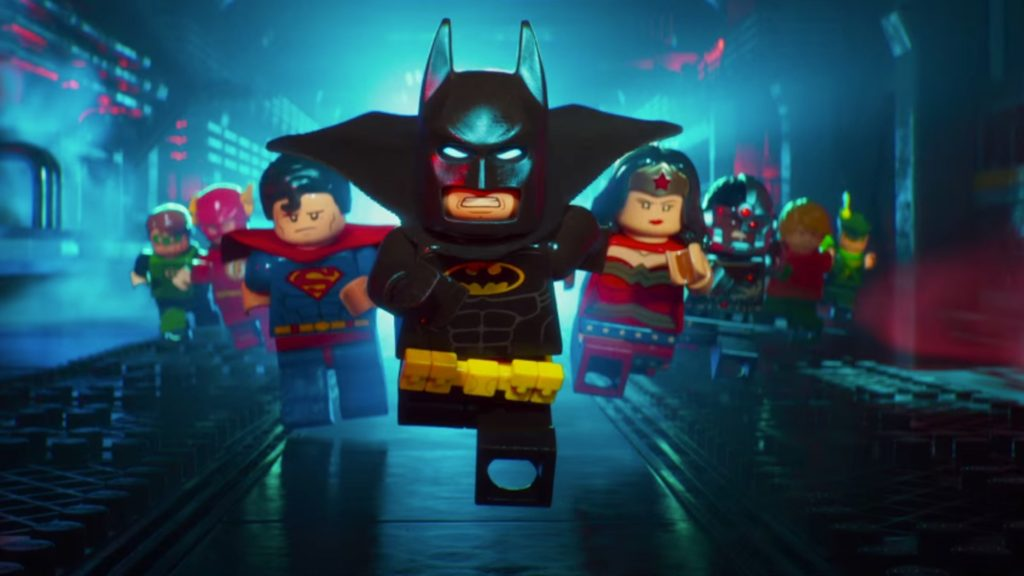 Lego Batman and the Justice League