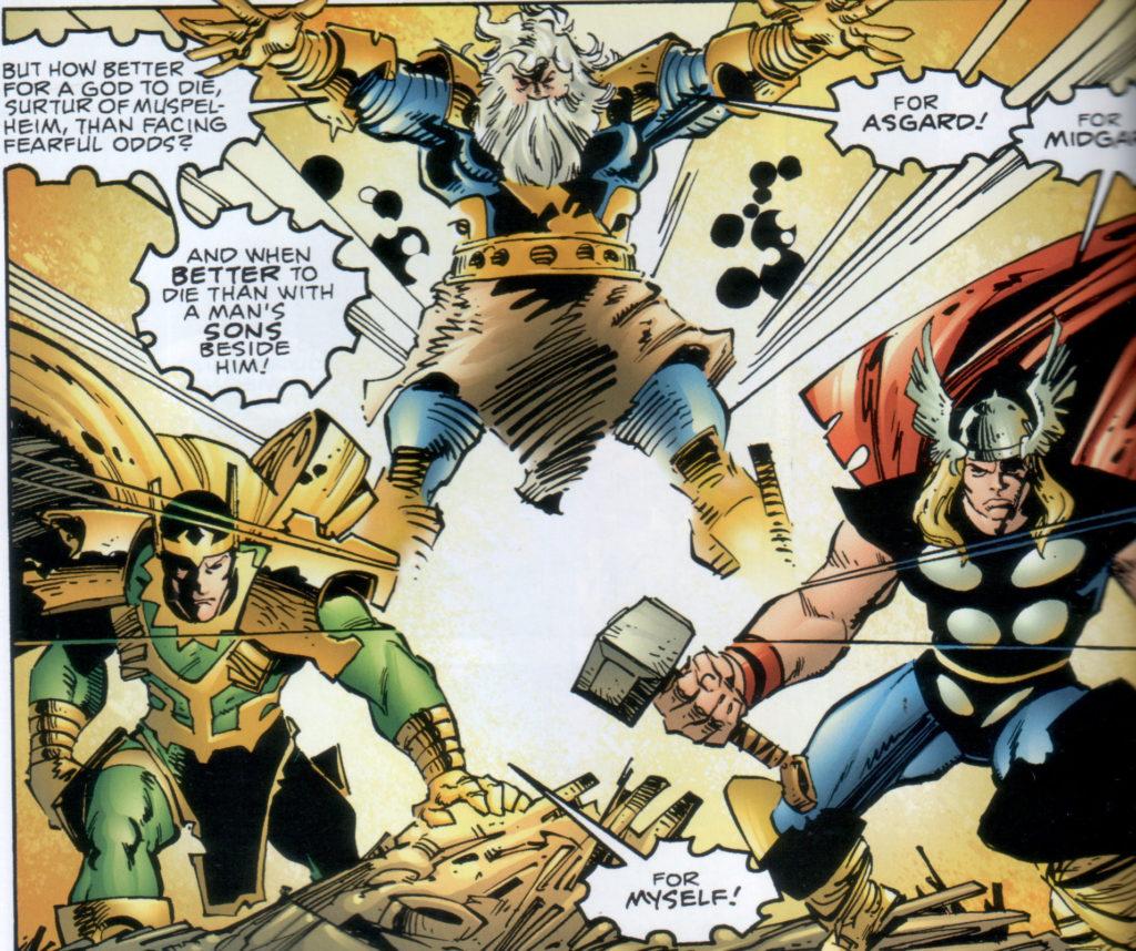 Walt Simonson Loki