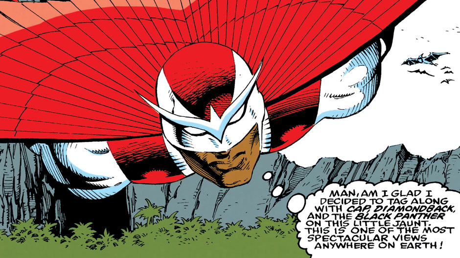 falcon in 90s marvel comics