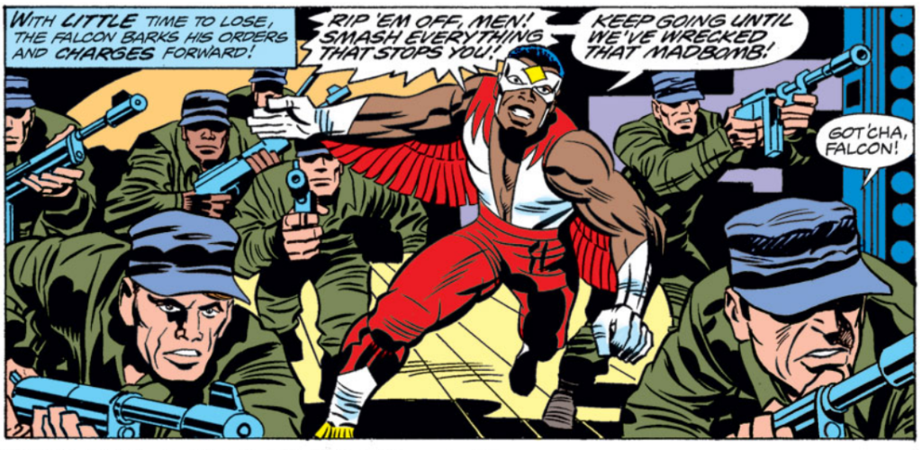 Falcon in Jack Kirby comics