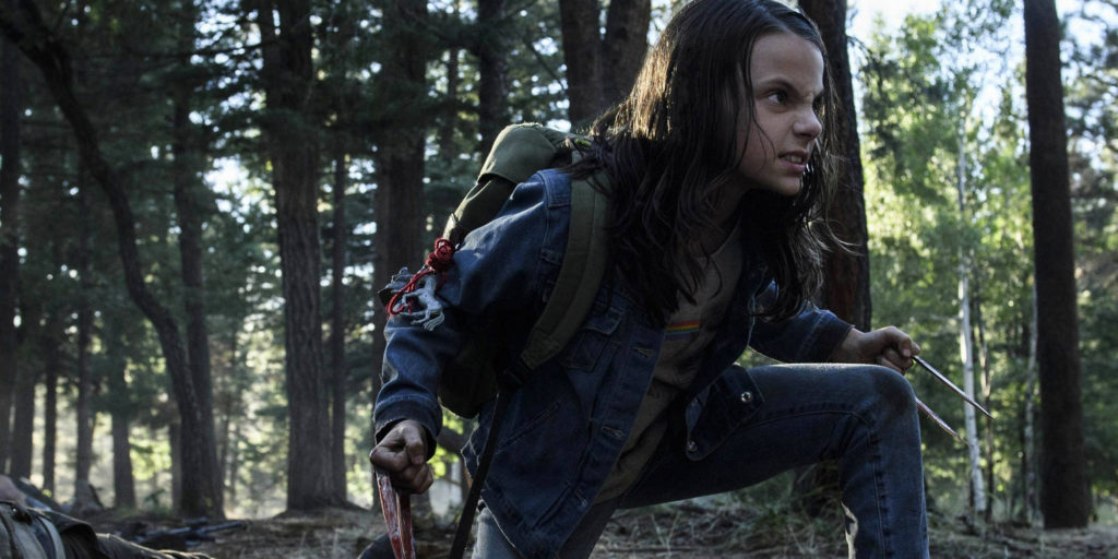 X-23 in Logan movie