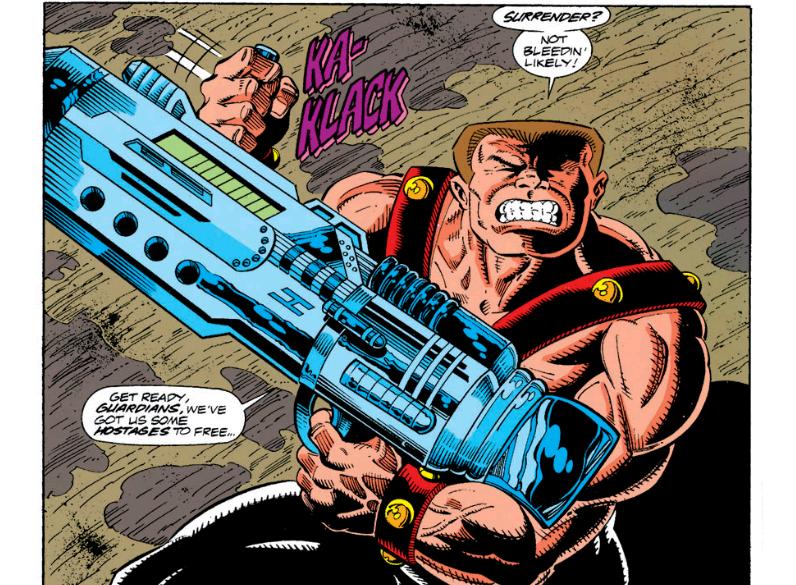 Charlie's got a bazooka