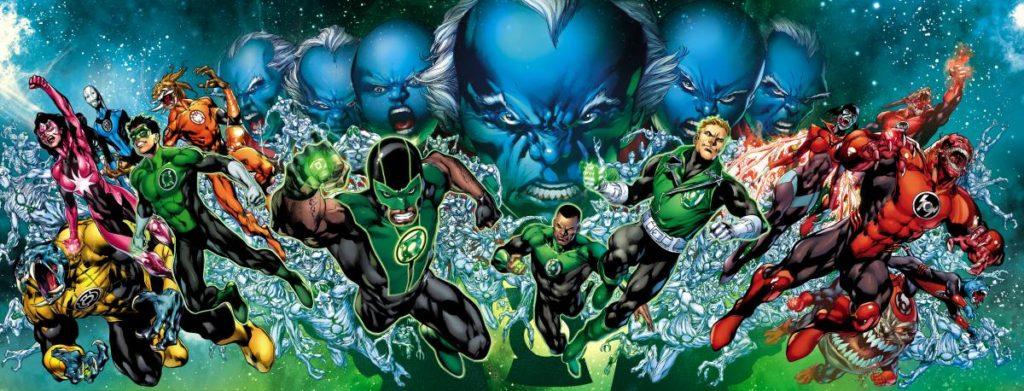 green lanterns in new 52