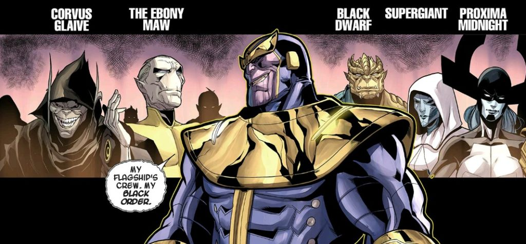 Thanos and his Black Order
