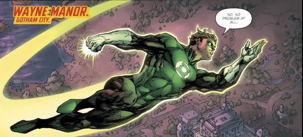 Hal off to investigate the Batcave