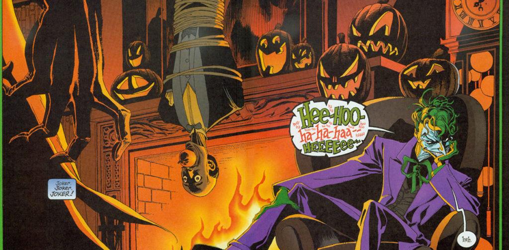 Tim Sale drawing Joker