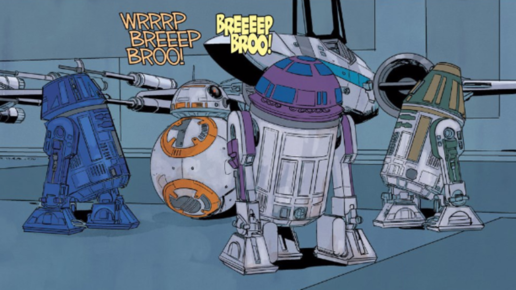 BB8 Comic Books
