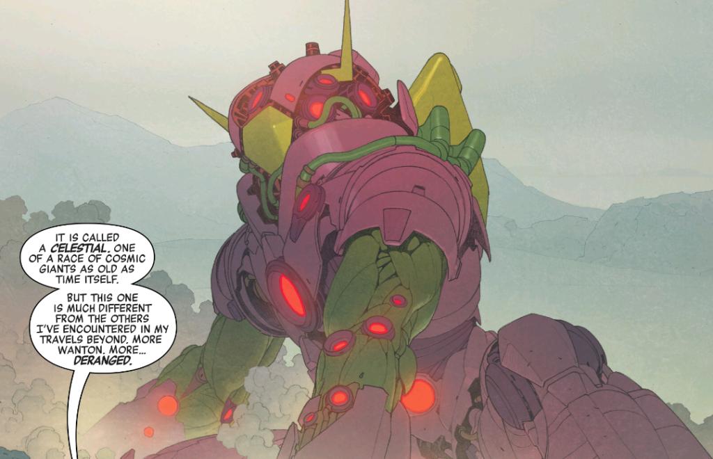 Marvel Legacy Celestial