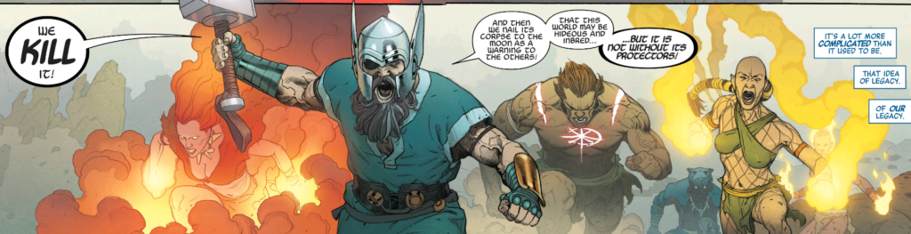 Avengers of the Stone Age in Marvel Legacy
