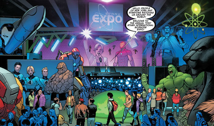 Iron Man Expo