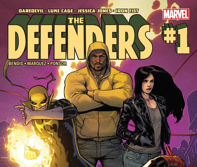 Marvel Defenders Comic #1
