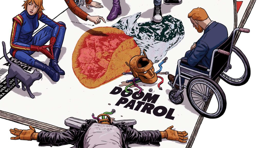 Doom Patrol comics from Young Animal