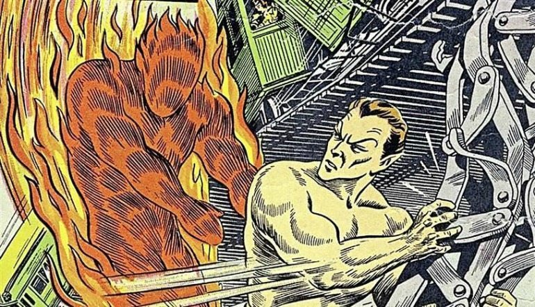 Namor and the Human Torch