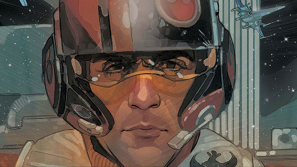 Marvel Star Wars comics with Poe Dameron