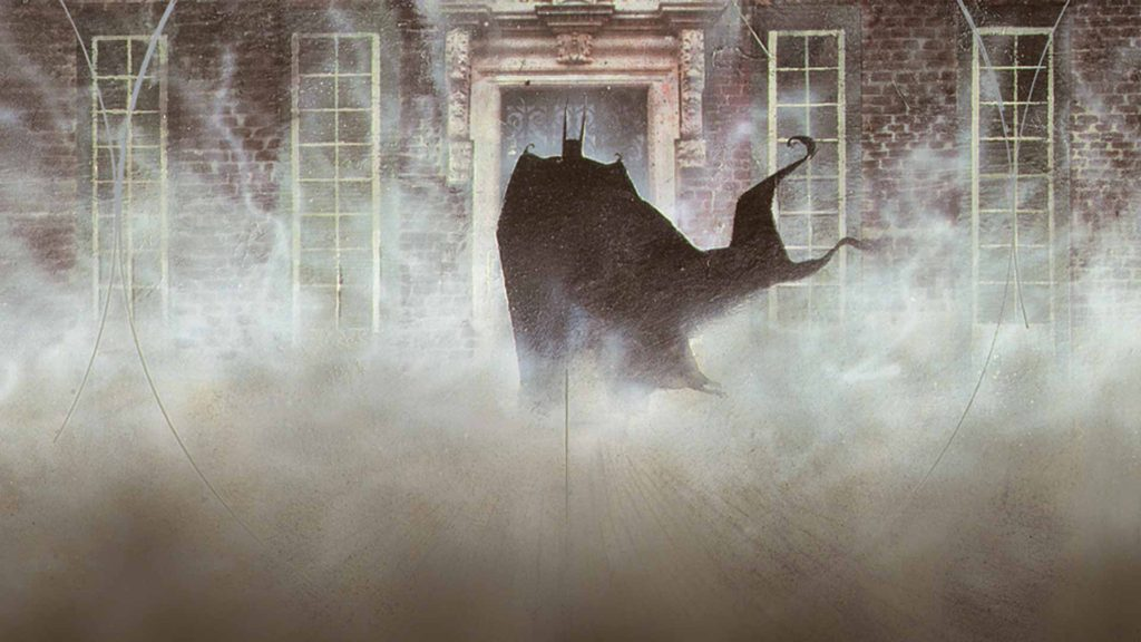 Grant Morrison's Arkham Asylum graphic novel starring Batman