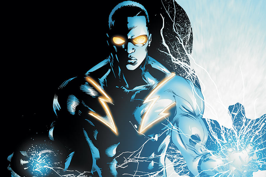 DC Rebirth introduction of Black Lightning