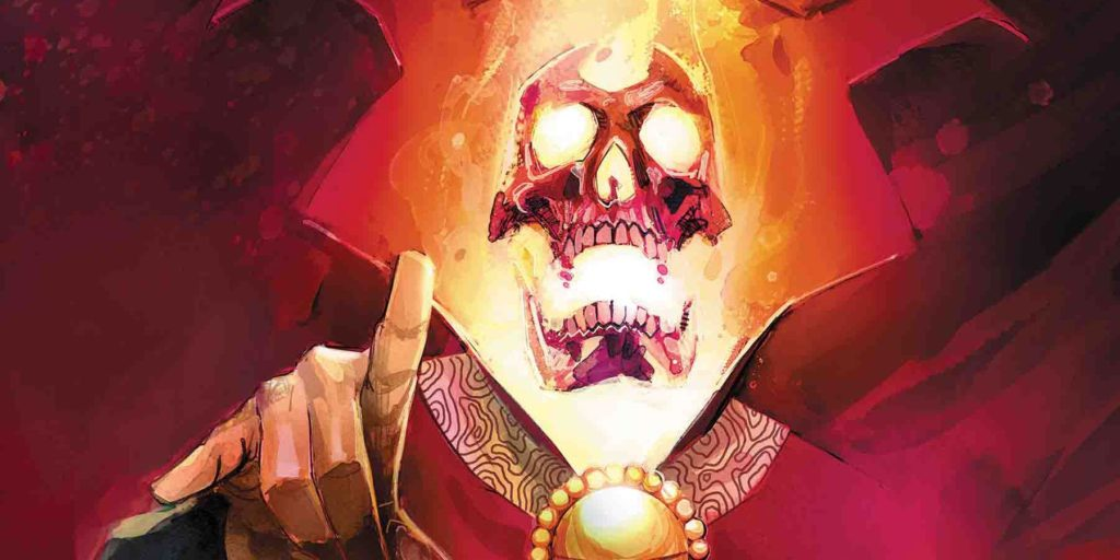 Ghost Rider Sorcerer Supreme in Damnation
