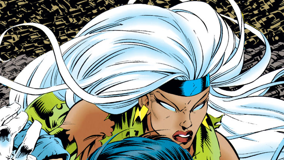 1990s Storm and the X-men comics