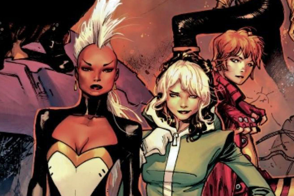 Storm leads an all women team of X-Men