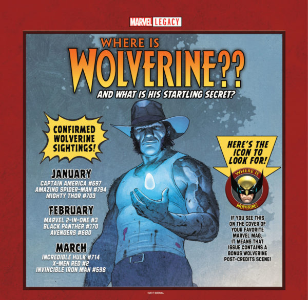 Where is Wolverine comic book checklist