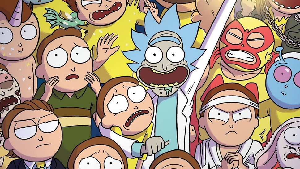 Rick and Morty comic books
