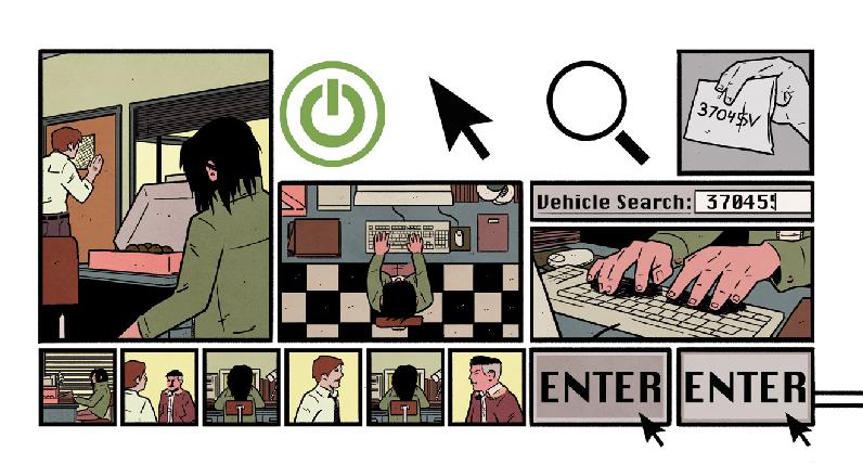 Black Mask Studios 4 Kids Walk Into a Bank innovative comics page layout