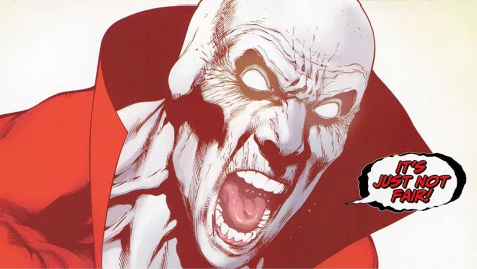 The character Deadman in DC Comics Brightest Day event