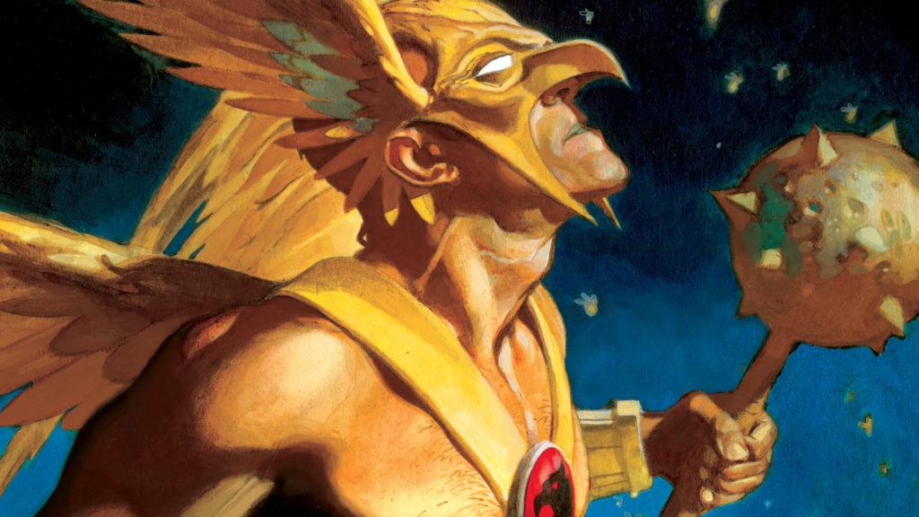 Geoff Johns brings back Hawkman