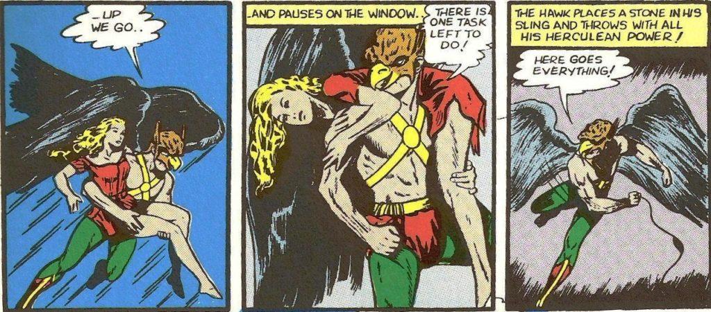 Golden Age Hawkman comic books