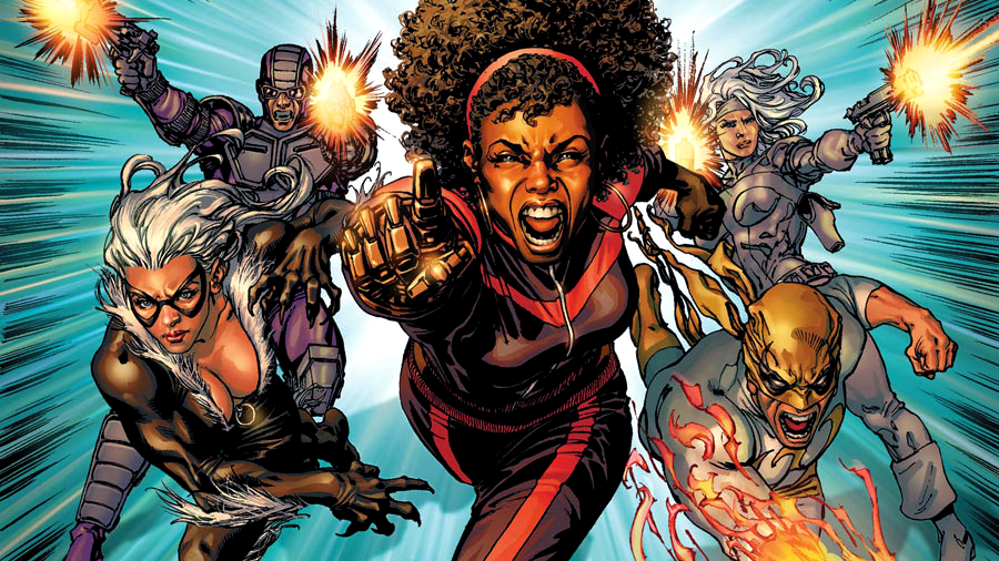Misty Knight and the Heroes for Hire of the 2000s