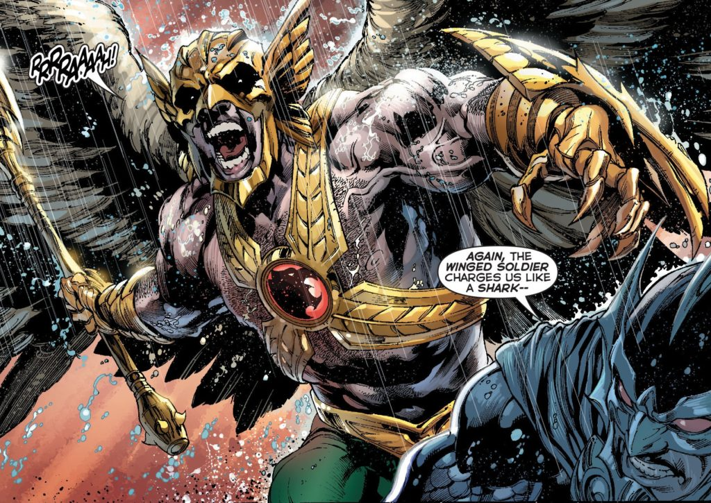 Savage Hawkman in DC's New 52