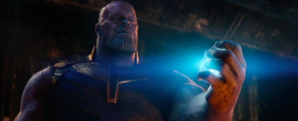 thanos gets hold of infinity stone