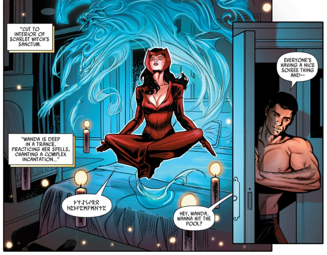 Scarlet Witch and Wonder Man in Uncanny Avengers