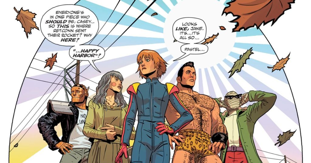 Doom Patrol Reading Order
