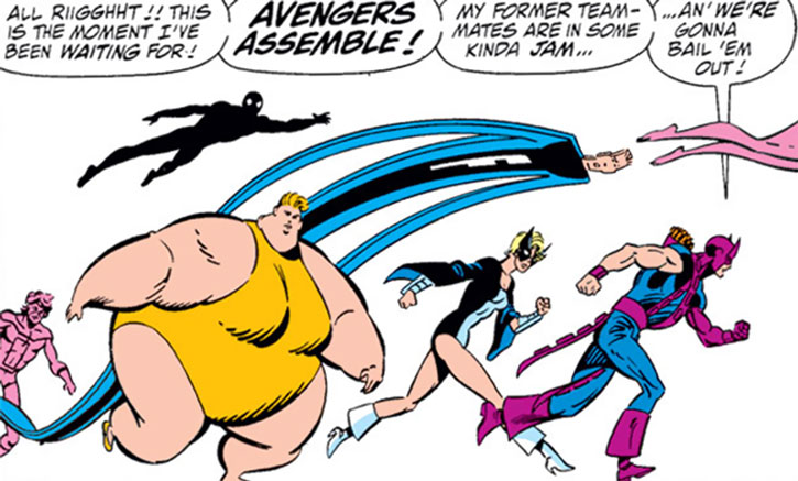 Hawkeye forms the Great Lakes Avengers