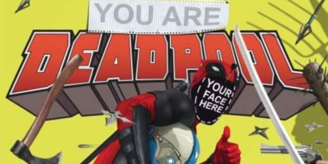 Al Ewing writing You Are Deadpool 5 issue comic book series from marvel